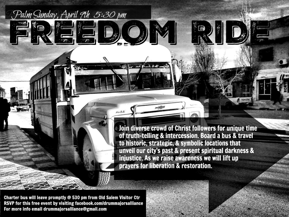 Freedom Ride 2017 flyer