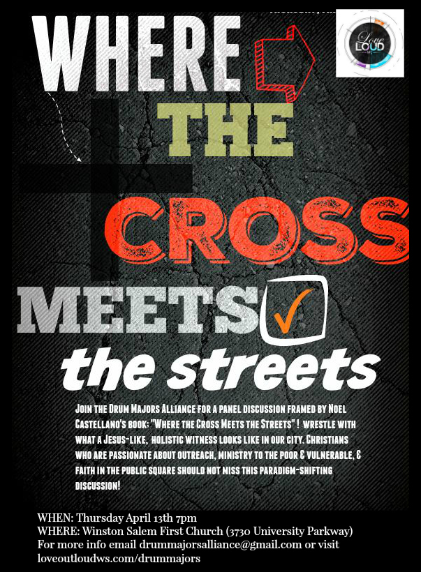 Where Cross Meets Street 2017 panel flyer